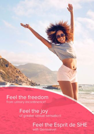 Feel the freedom from urinary incontinence and genital beautification with this vaginal rejuvenation treatment